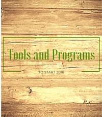 Tools & Programs for 2016 for image slider