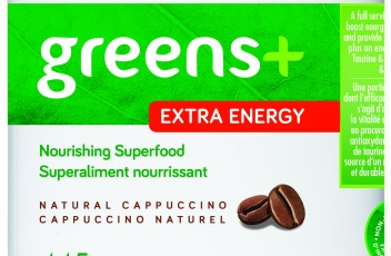 greens+ Extra Energy - Cappuccino