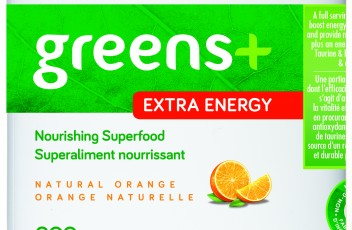 greens+ Extra Energy - Natural Orange