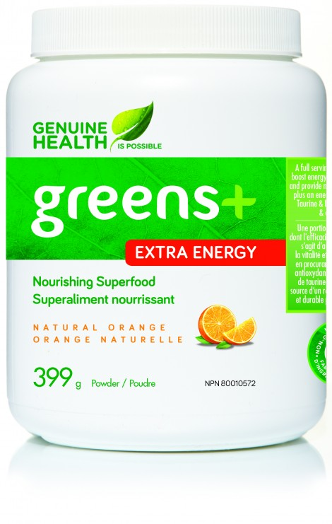 greens+ Extra Energy - Natural Orange