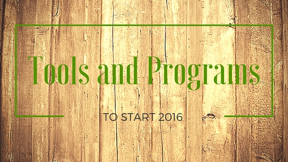 Tools & Programs for Health in 2016