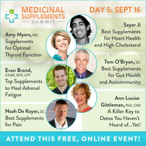 Medicinal Supplements Summit Day 5