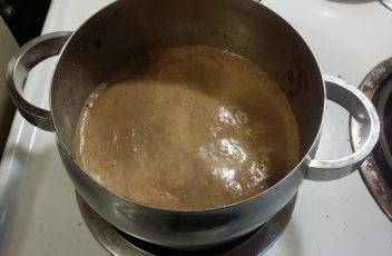 Hot Chocolate Smoothie pot