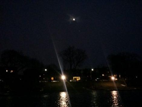 Night Sky, Toronto park
